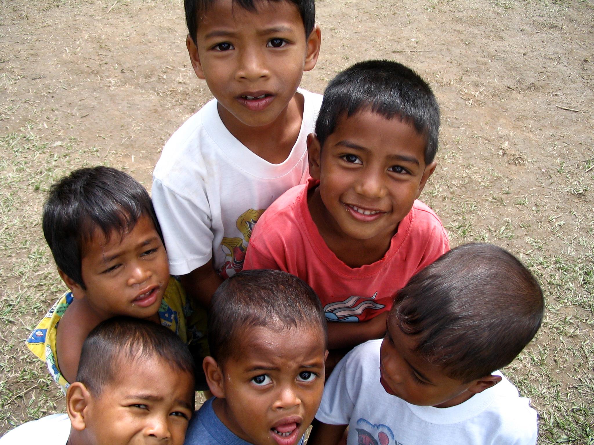 Portret jongens in Maleisie