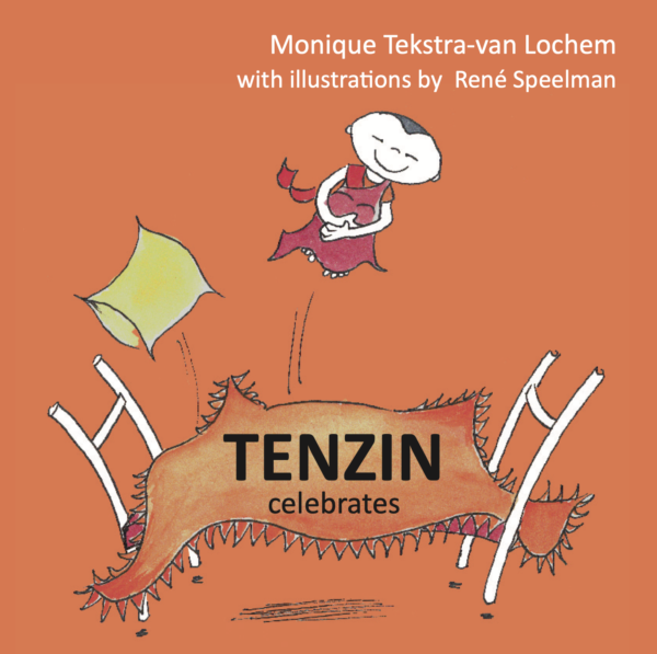 Tenzin celebrates book cover
