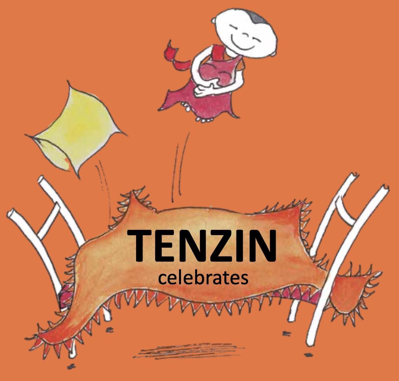 Tenzin celebrates cover website klein