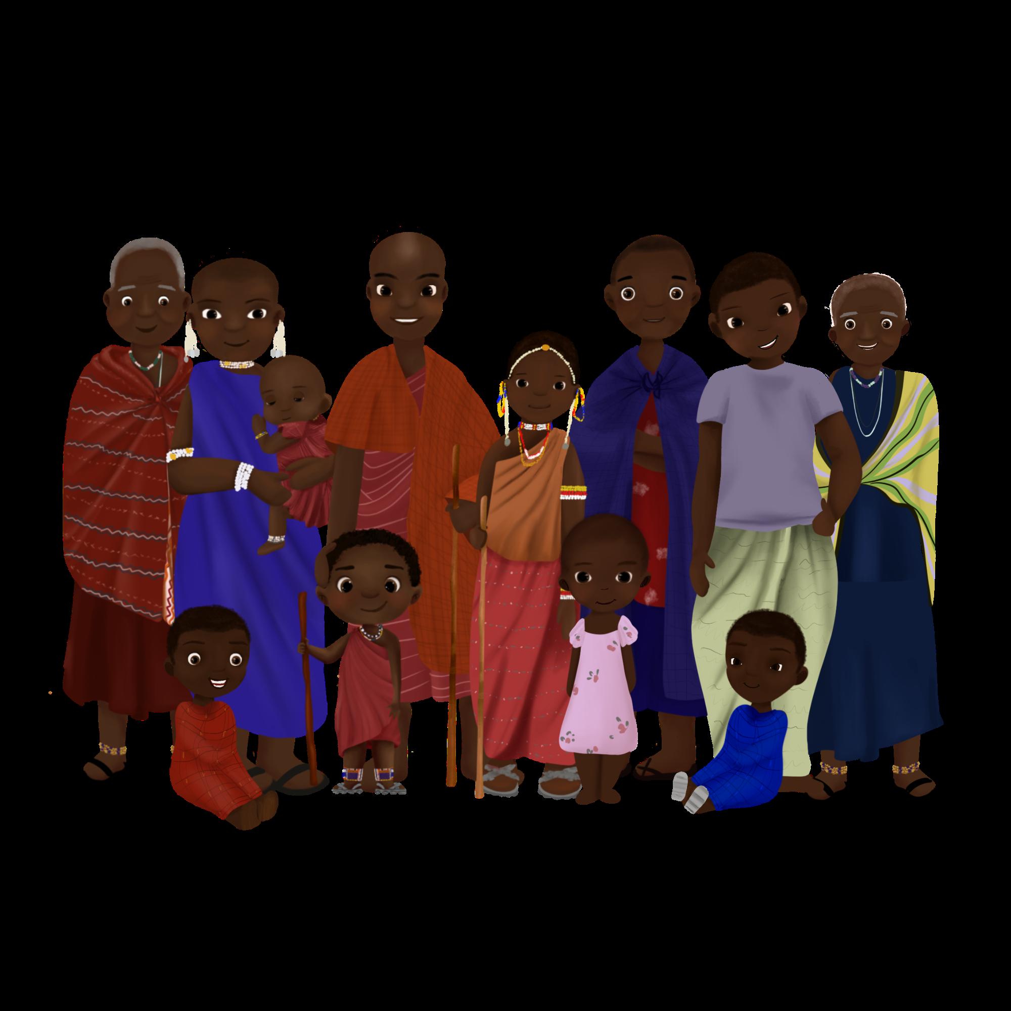 He met wie leef jij - Tanzania