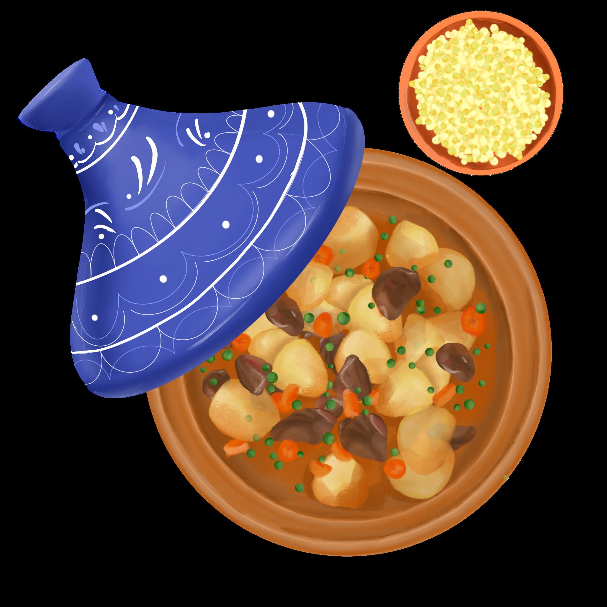 He wat eet jij - Marokko
